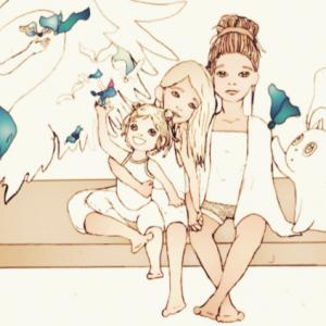 Finna, Mak and Sylvie by Sylvie
